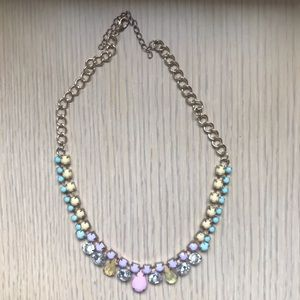 Multicolored Accent Necklace!